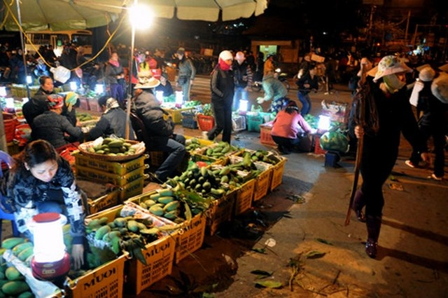 Long Bien Market - Vietnam Tours