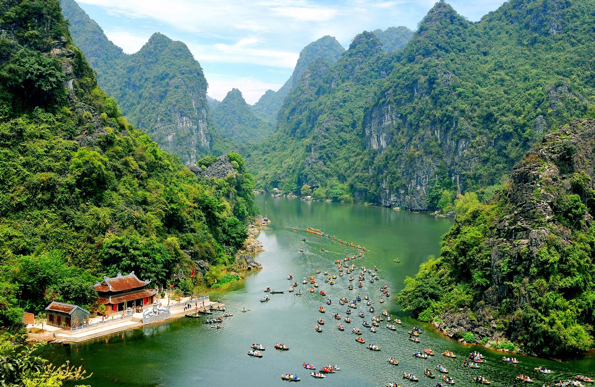 Ha Long on land in Ninh Binh