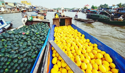 Cai Be floating market 2 days