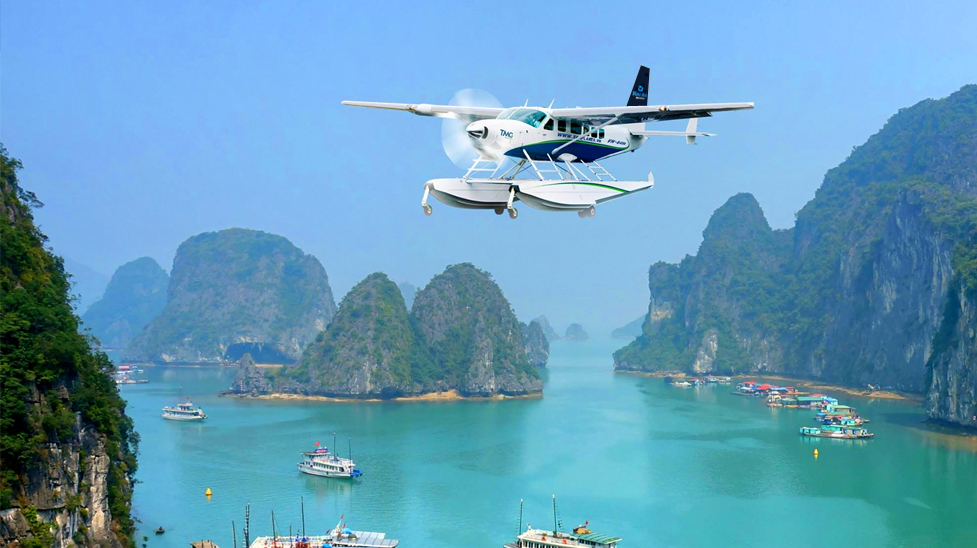 Hanoi – Halong bay by sea plane with 04 days 03 nights