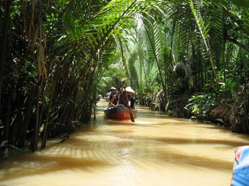 Mekong delta home stay