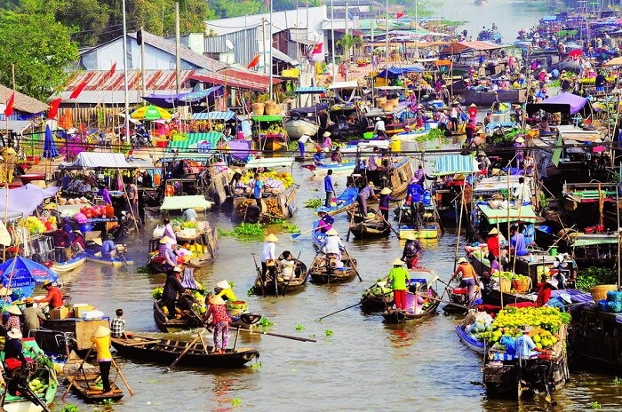 Tour Saigon - Mekong Delta - Cai Rang floating market 5 days