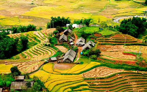 Sapa – Cat Cat – Lao Chai – Ta Van 2 days by bus